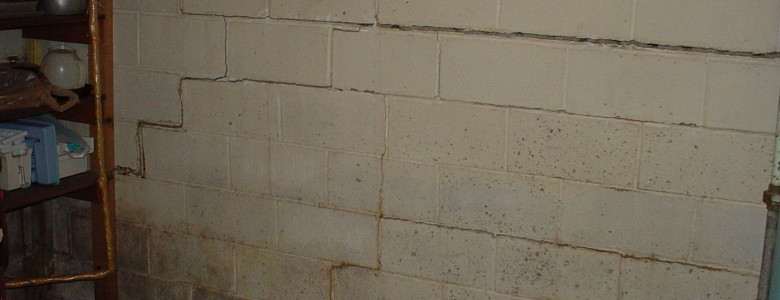 cracked basement walls